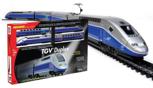 Купить Железная дорога Mehano TGV Duplex в интернет магазине игрушек и детских товаров