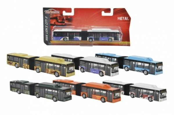 Городской автобус Majorette 2053181 - 18,5 см