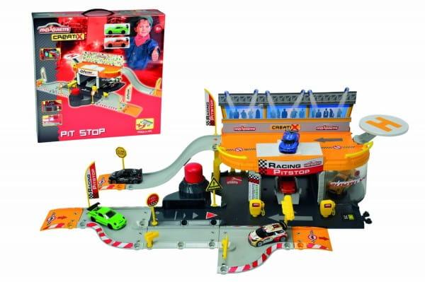 Купить Питстоп Majorette Creatix (с машинкой) в интернет магазине игрушек и детских товаров