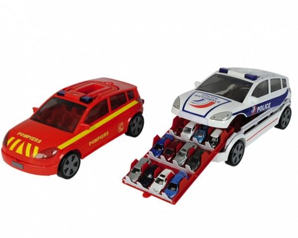 Купить Автомобиль - кейс Majorette на 24 авто со светом и звуком в интернет магазине игрушек и детских товаров
