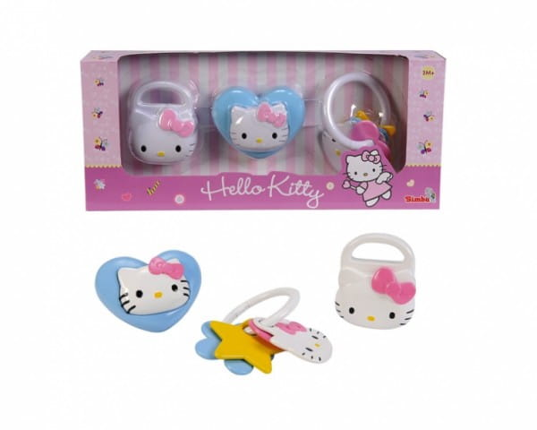 Набор погремушек Simba 4014856 Hello Kitty