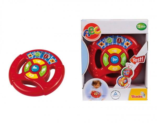 Игровой руль Simba 4019636 со звуком и светом