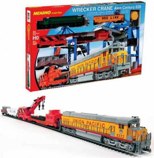 Купить Железная дорога Mehano Wrecker Crane в интернет магазине игрушек и детских товаров