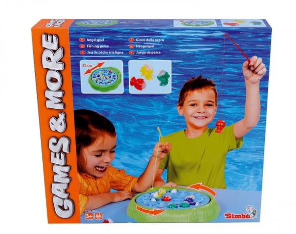 Купить Настольная игра Simba Рыболов в интернет магазине игрушек и детских товаров