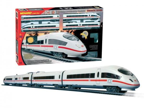 Купить Железная дорога Mehano Ice-3 - Сапсан в интернет магазине игрушек и детских товаров