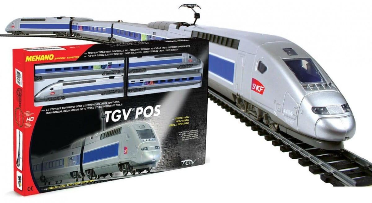 Железная дорога Mehano T756 TGV Pos