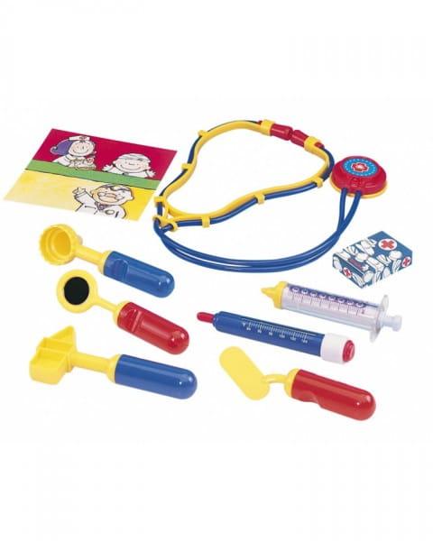 Набор доктора Simba 5549757 в чемоданчике - 10 предметов