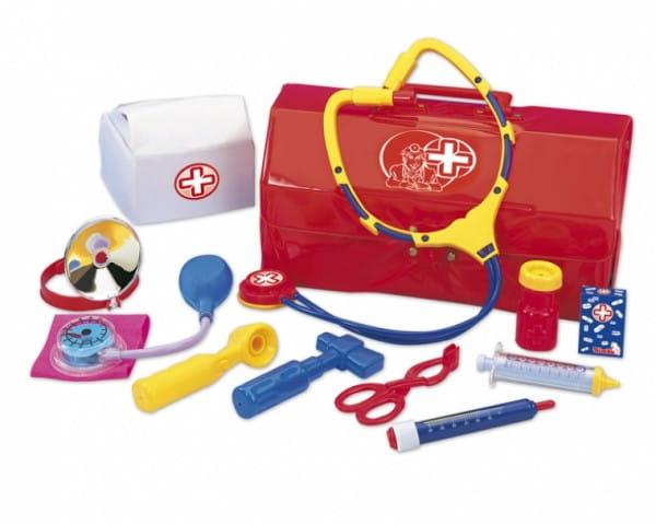 Купить Набор доктора Simba в чемоданчике - 12 предметов в интернет магазине игрушек и детских товаров