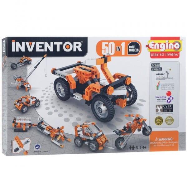 Конструктор Engino Inventor - 50 моделей (с мотором)