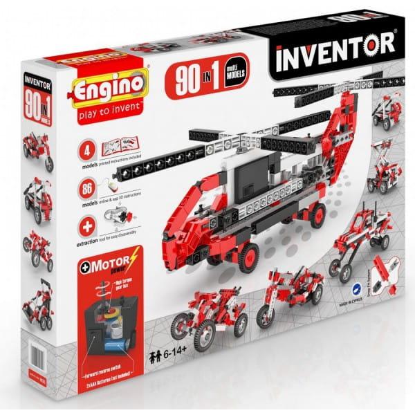Конструктор Engino Inventor - 90 моделей (с мотором)
