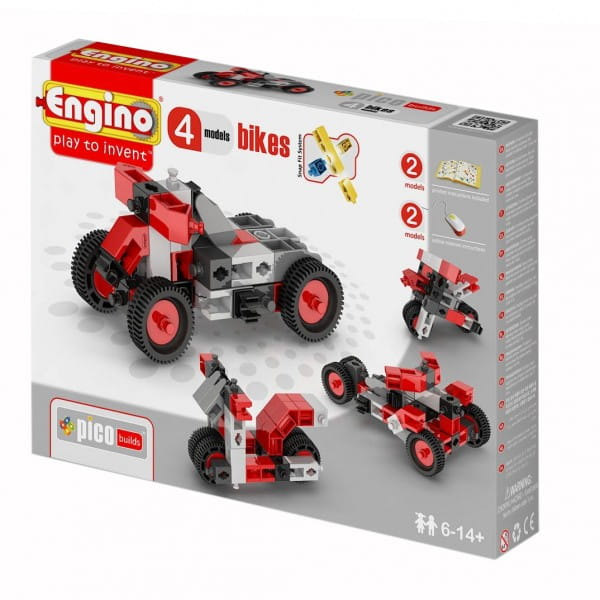 Конструктор Engino Inventor Мотоциклы - 4 модели