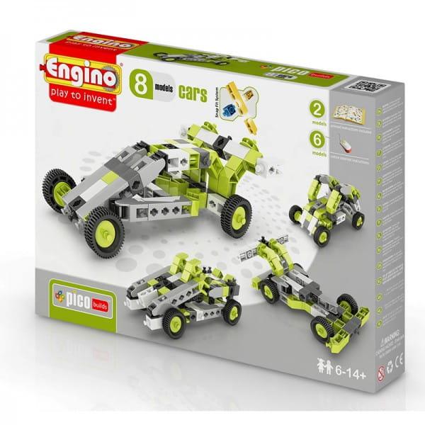 Конструктор ENGINO Inventor Автомобили - 8 моделей