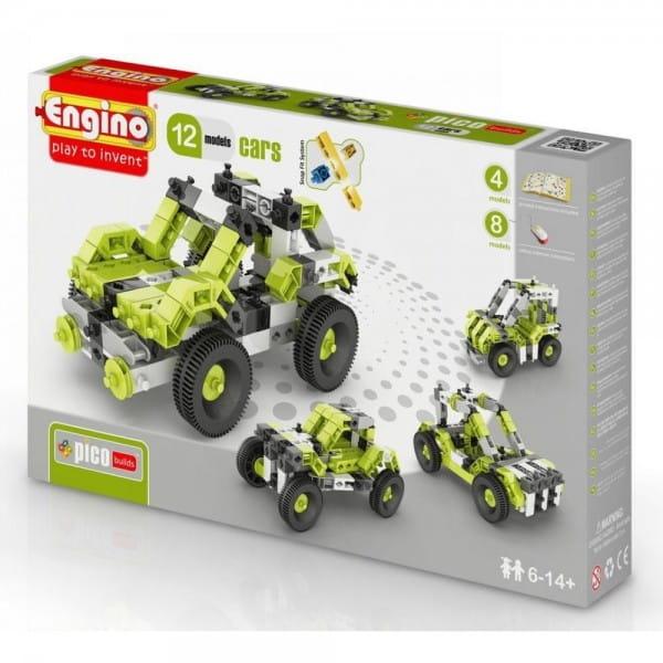 Конструктор Engino Inventor Автомобили - 12 моделей