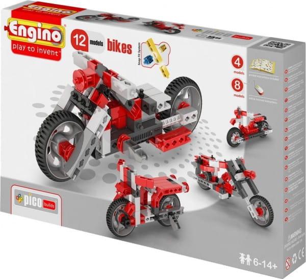 Конструктор Engino Inventor Мотоциклы - 12 моделей