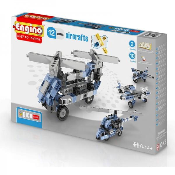 Конструктор Engino Inventor Самолеты - 12 моделей