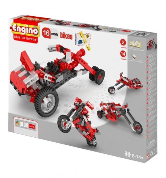 Конструктор Engino Inventor Мотоциклы - 16 моделей