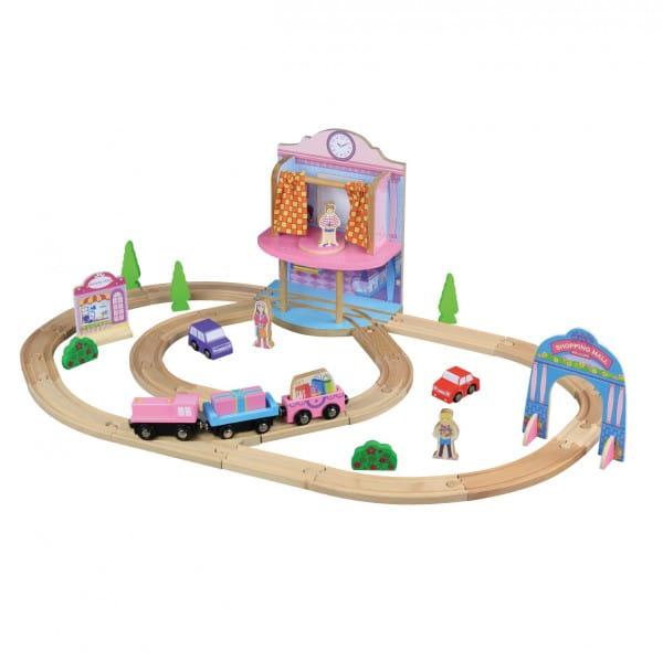 Купить Конструктор Balbi Железная дорога - 36 деталей в интернет магазине игрушек и детских товаров