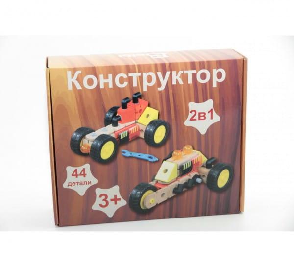 Купить Деревянный конструктор Balbi - 44 детали в интернет магазине игрушек и детских товаров