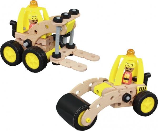 Купить Деревянный конструктор Balbi - 45 деталей в интернет магазине игрушек и детских товаров