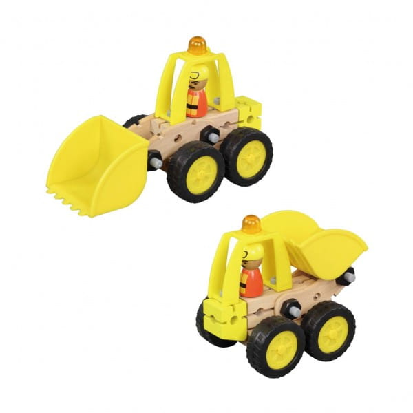 Купить Деревянный конструктор Balbi - 26 деталей в интернет магазине игрушек и детских товаров