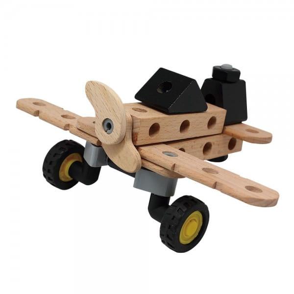 Деревянный конструктор Balbi - 35 деталей