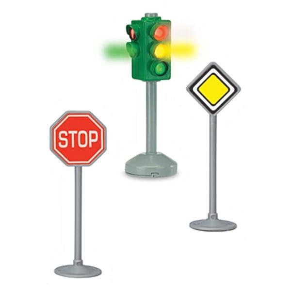 Игровой набор DICKIE Светофор и дорожные знаки движения