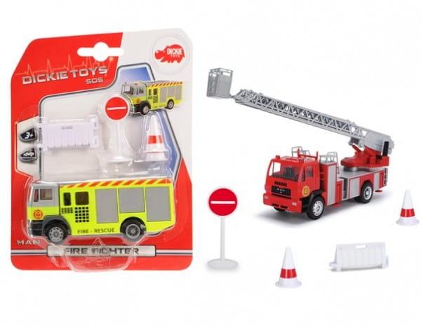 Пожарная машина Dickie 3341006 (свободный ход)