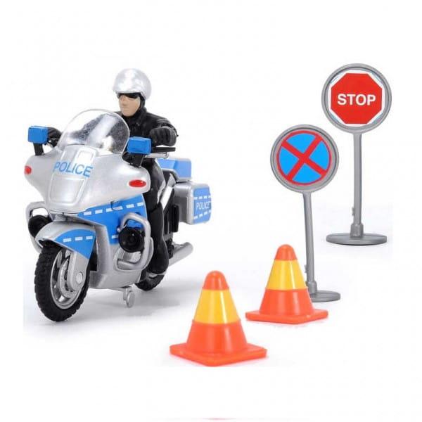 Полицейский набор Dickie 3342001 (свободный ход)