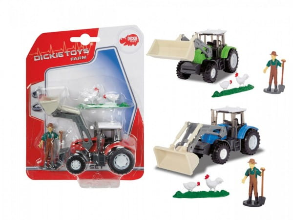 Трактор с фигуркой Dickie