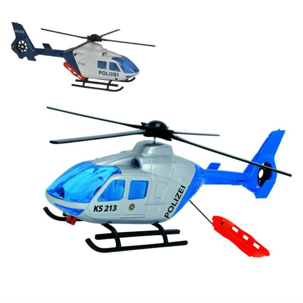 Полицейский вертолет Dickie - 24 см