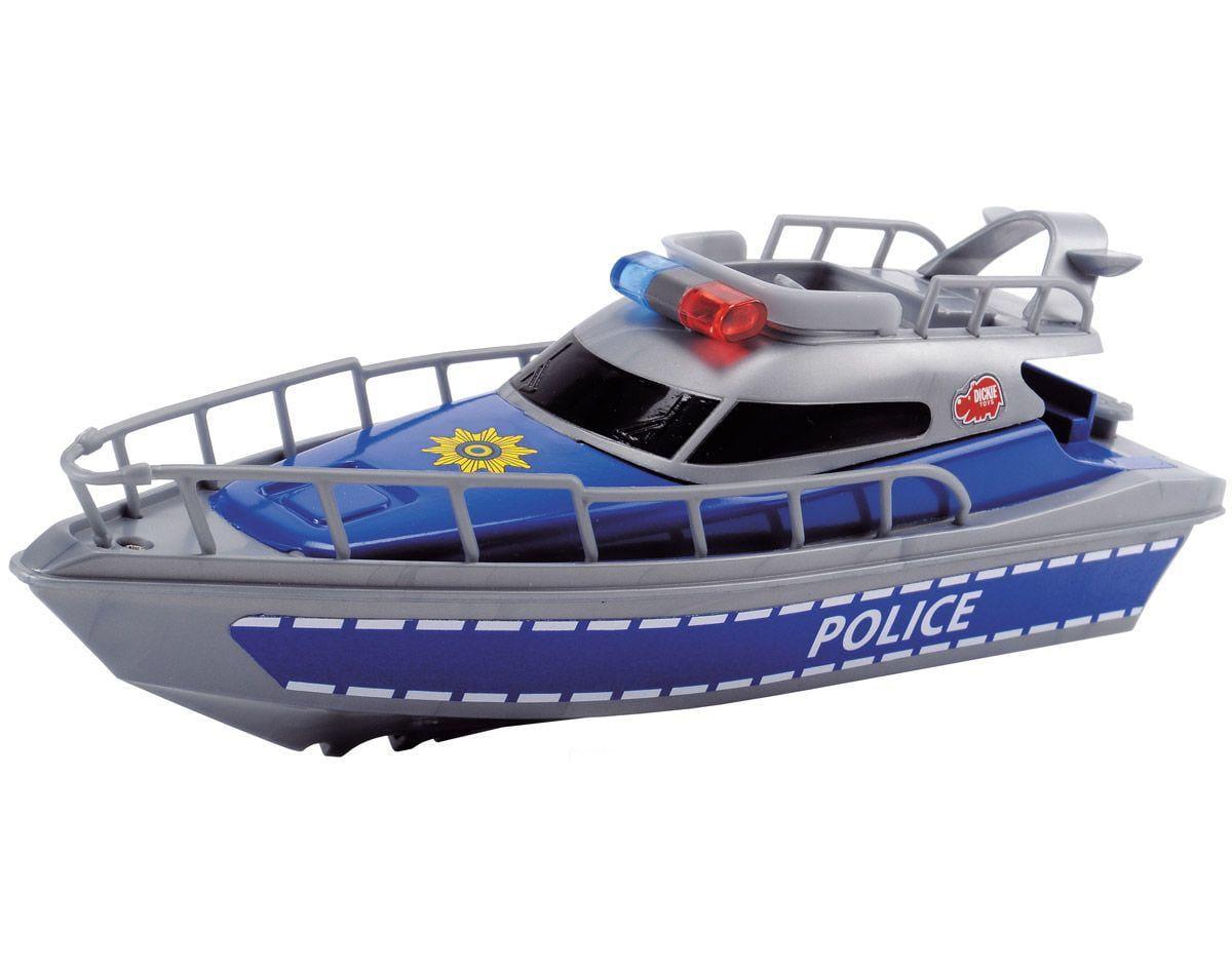Полицейская лодка DICKIE - 23 см