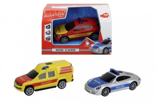 Специальный автомобиль Dickie со звуком и светом - 5 см