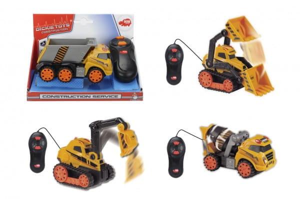 Купить Строительная машинка Dickie на дистанционном управлении в интернет магазине игрушек и детских товаров