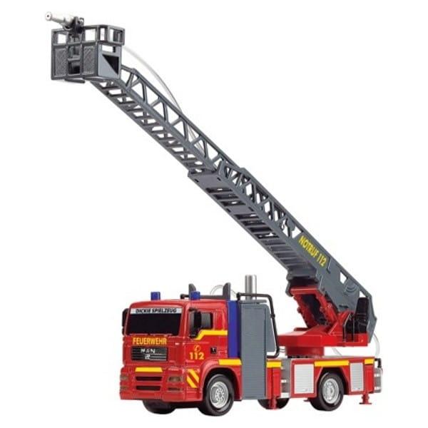 Пожарная машина Dickie 3715001 фрикционная (со светом, звуком и водой)