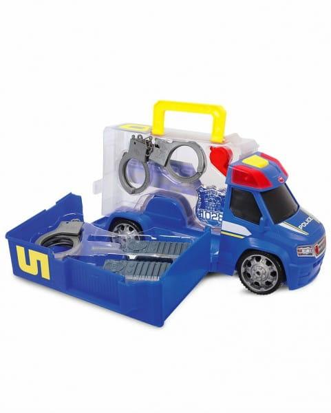 Машинка - чемоданчик Dickie Полиция с аксессуарами