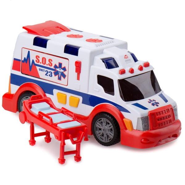 Машина скорой помощи Dickie 3308360 со звуковыми и световыми эффектами