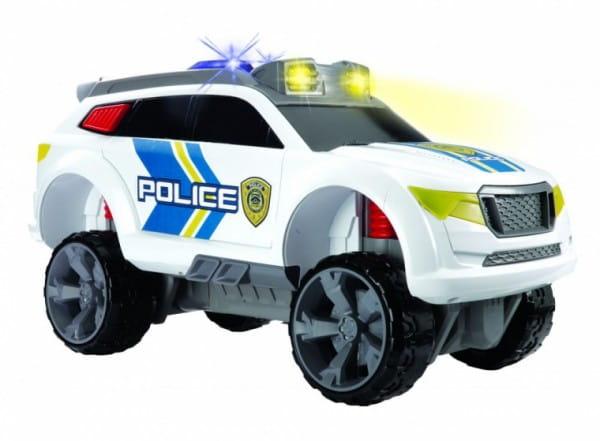 Полицейский джип Dickie со звуком и светом