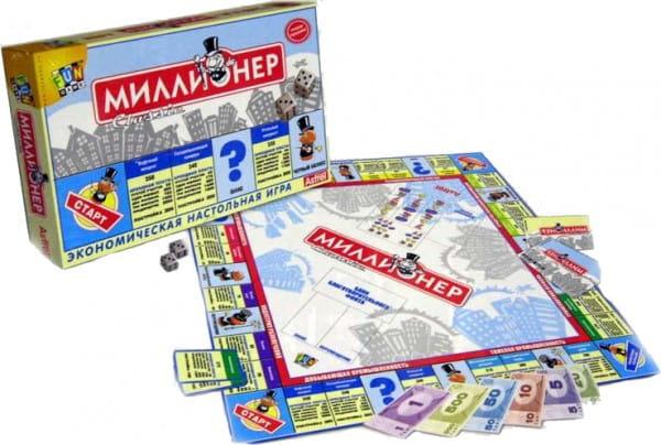 Настольная игра Origami 00109 Миллионер классик