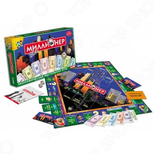 Настольная игра Origami 00111 Миллионер элит