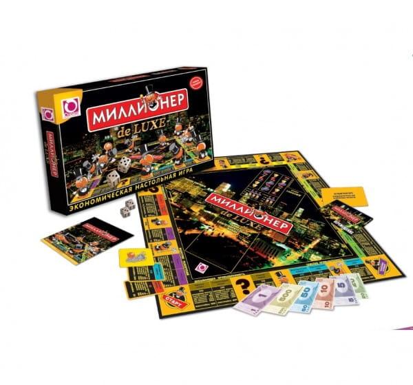 Настольная игра Origami 01828 Миллионер делюкс