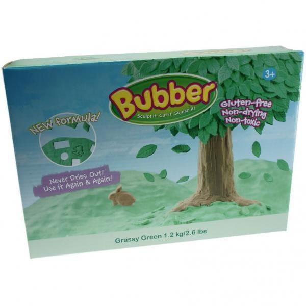Купить Масса для лепки Waba Fun Bubber 1200 г - зеленый в интернет магазине игрушек и детских товаров