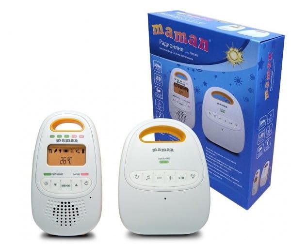 Купить Радионяня Maman ВМ2000 в интернет магазине игрушек и детских товаров