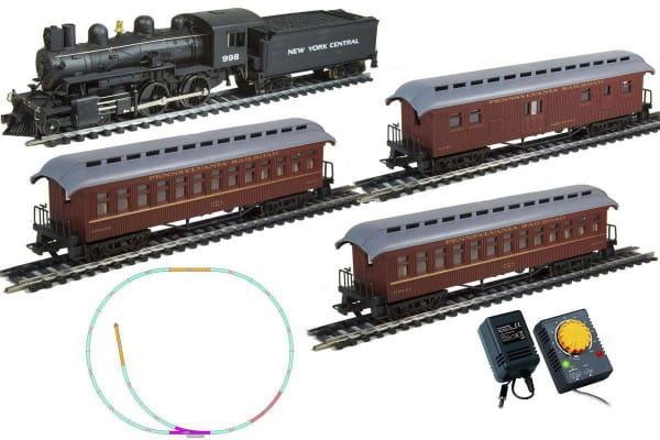 Купить Стартовый набор Mehano Hobby Pan American с 3-мя вагонами в интернет магазине игрушек и детских товаров