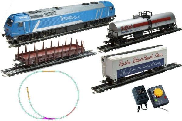 Купить Стартовый набор Mehano Prestige 333.3 Grand lineas с 3-мя вагонами в интернет магазине игрушек и детских товаров