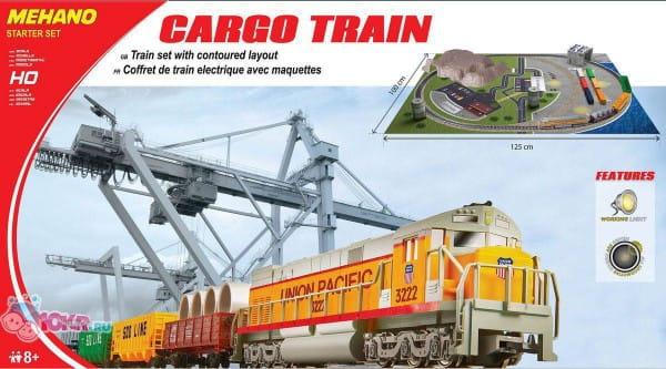 Стартовый набор Mehano T113 Cargo tran с ландшафтом