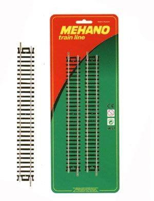 Игровой набор Mehano F223 Рельсы прямые - 228,6 мм (4 штуки)