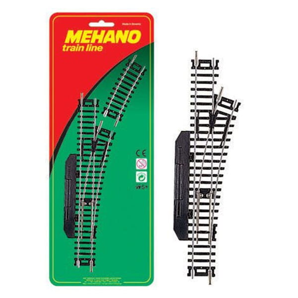 Игровой набор MEHANO Стрелка правая механическая - Железные дороги