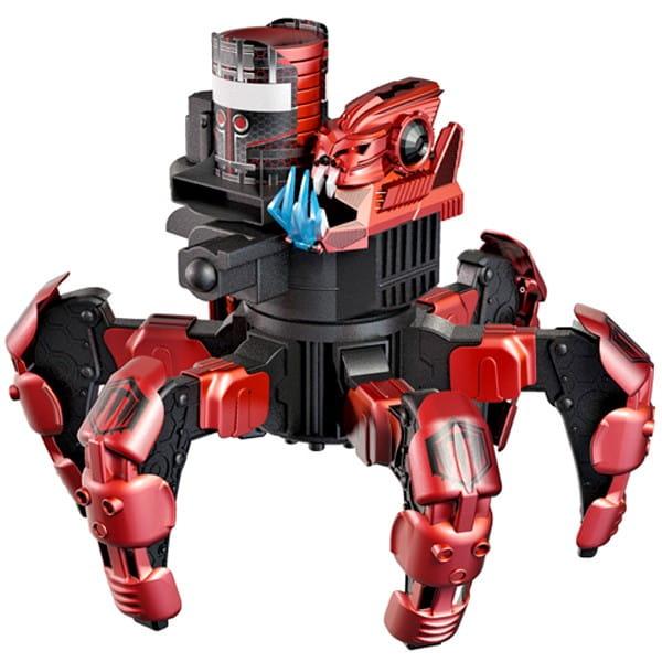 Купить Радиоуправляемый робот Combat Creatures Attacknid - Doom Razor красный (Wow Stuff) в интернет магазине игрушек и детских товаров