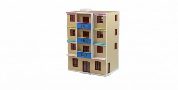 Игровой набор Mehano 1524 Многоэтажный дом