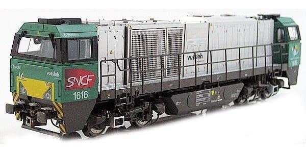 Игровой набор Mehano T275 Тепловоз четырехосный Vossloh G2000 SYM SNCF